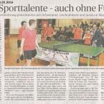 Jugendsportlerehrung 2016 Rheinische Post 13.03.2016 Internet